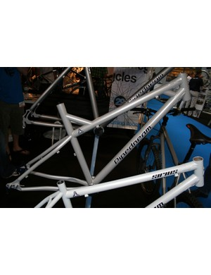 Pipedream were showing this new budget model made from 4130 chromoly