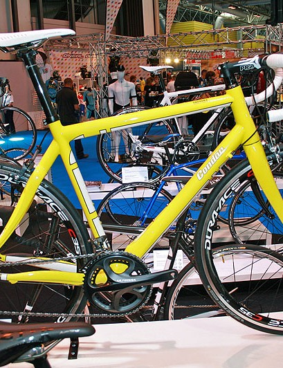 Condor made the Squadra to satisfy the demand for cheaper carbon frames