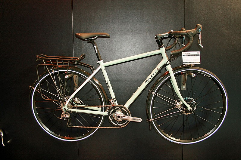 The disc brake equipped A Cunning Plan touring bike