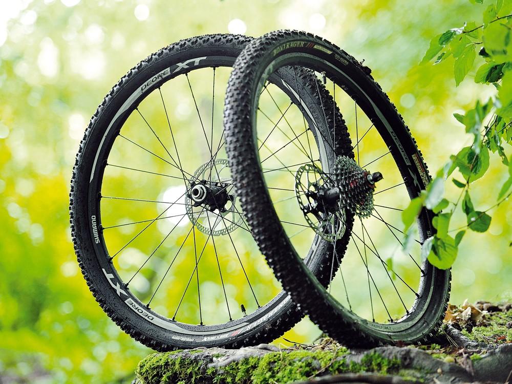 Shimano WH-M788 XT mountain bike wheels