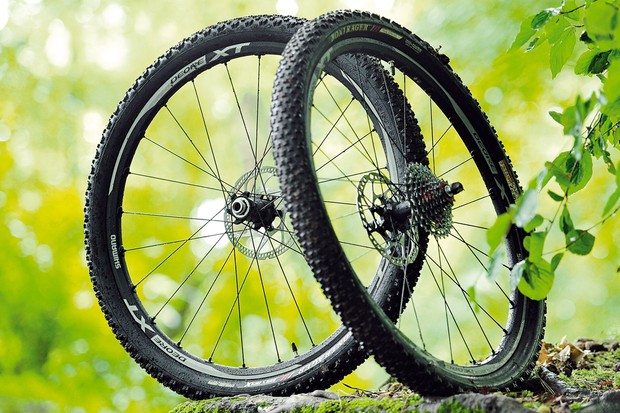 Shimano WH-M788 XT mountain bike wheels