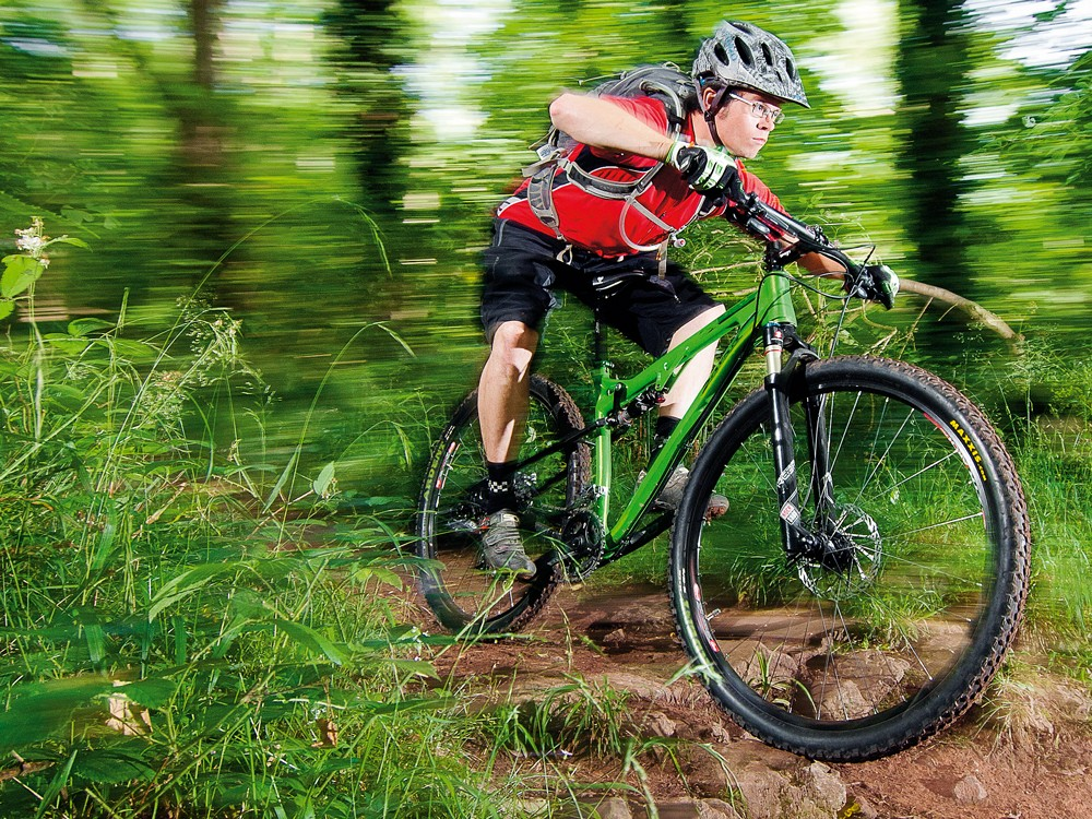 The Spearfish is a  short travel smooth-rolling, nimble handling, good value full suss 29er that makes trails feel easier than they look
