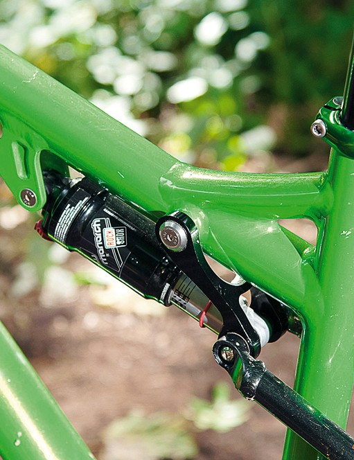 RockShox Monarch offers up 80mm of rear suspension travel