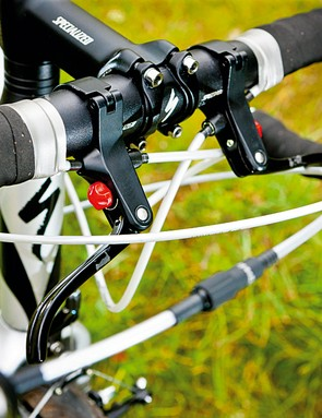 Extra 'cross top' levers are included if you want to fit them
