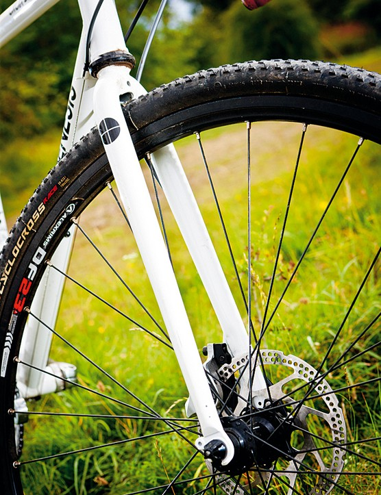 Fit narrower tyres and you'll have space for mudguards