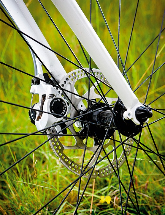 Disc brakes come into their own when the weather turns wintry