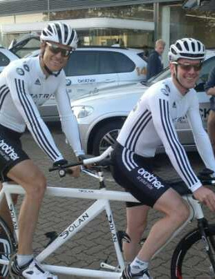 James Cracknell and Jerone Walters have abandoned their attempt on the LEJOG tandem record