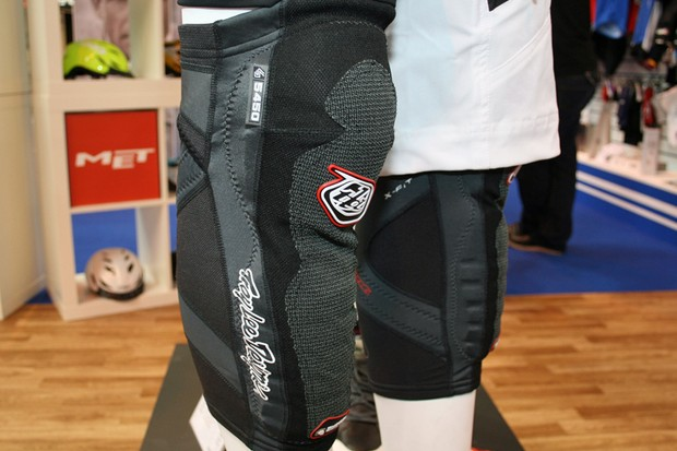 TLD's new 5450 knee/shin pads use Shock Doctor technology to provide decent protection at a light weight