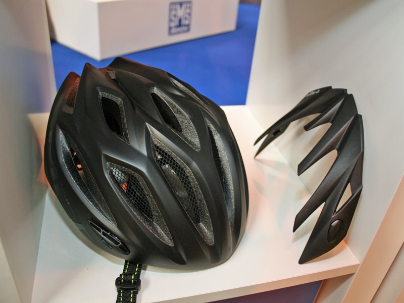 Remove the peak and the Crossover looks like a purebred road lid