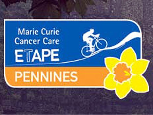 Like the Etape Caledonia, the County Durham event has brought Marie Curie Cancer Care on board