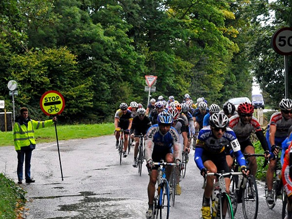 The sign in action during the recent High Wycombe CC annual road race