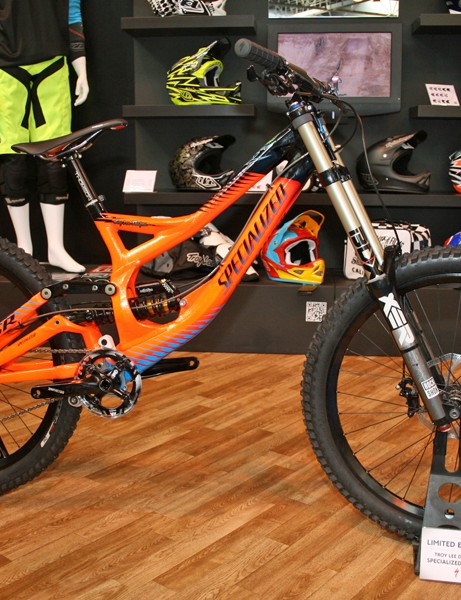 Troy Lee Designs mainman Troy Lee came up with the paintjob for this limited edition Specialized Demo 8 frame