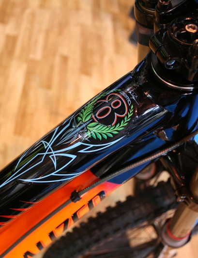 You'll certainly stand out from the crowd on this bike