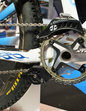 Fin 'went to town with all of the parts' - hence the Shimano XTR cranks