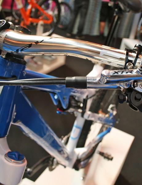 Easton bars and XTR brakes complete the wishlist spec