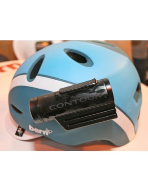 Mounting options are still our biggest bugbear with Contour's helmet cams - the stick-on ones seem to work best