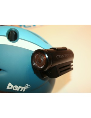 The rotating lens on the ContourROAM means it can be mounted at any angle