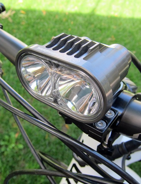 Baja Designs say their top-end Double Strykr churns out up to 1,800 lumens on its highest setting