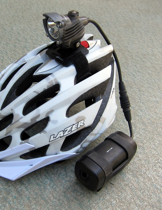 Baja Designs' lightest setup is the Strykr SL, which weighs just 428g complete