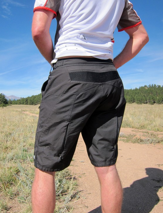 A stretch panel around the top of the Jett Raptor shorts helps maintain a good fit