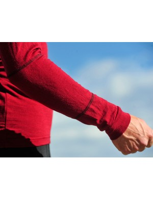 Swobo's multi-panel, 100 percent wool arms
