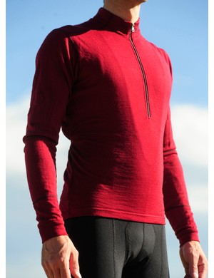 The TRAD jersey fits exceptionally considering its 100 percent wool construction