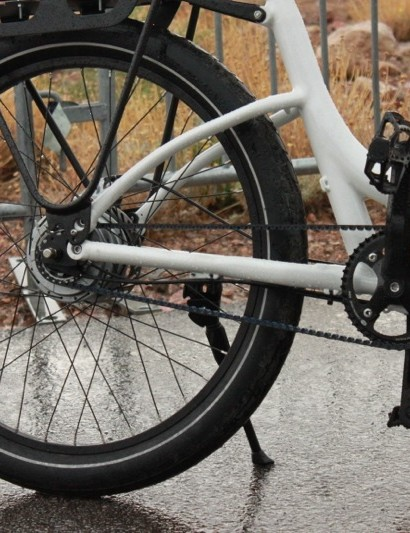The top model comes with a Nuvinci CVT hub and Gates belt drive
