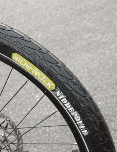 Urbana's NiddePoule Sidewalk 2.6in tires