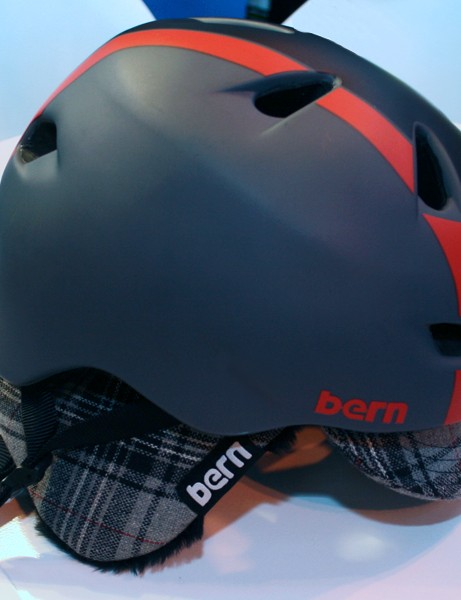 Bern's interchangeable liner system means you can add ear flaps when the weather gets cold