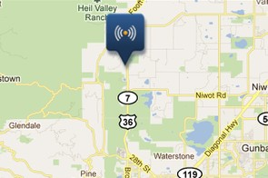 The Garmin mobile tracking app updates quickly and provides a detailed view of the device's current position