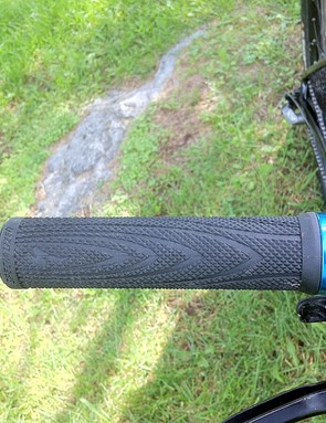 Specialized's lock-on grips don't offer much in the way of cushioning for the hands