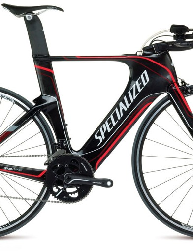 The Specialized Shiv Pro SRAM Red comes built with DT Swiss Axis wheels