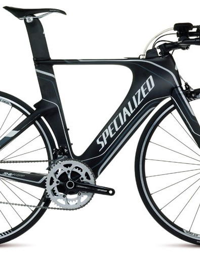 The Specialized Shiv Comp Rival has an alloy aerobar but keeps the adjustability of the higher-priced models