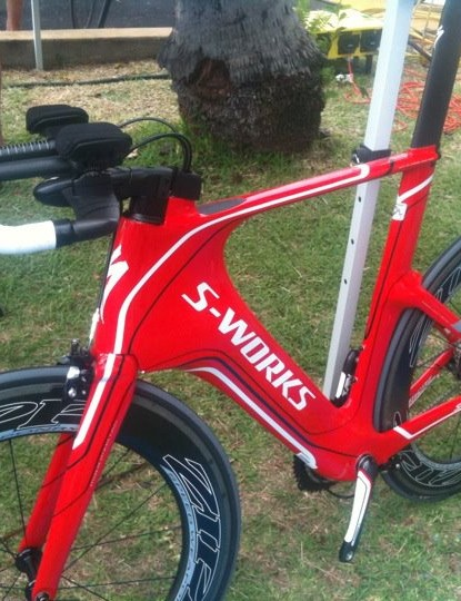 An S-Works Shiv, ready to roll