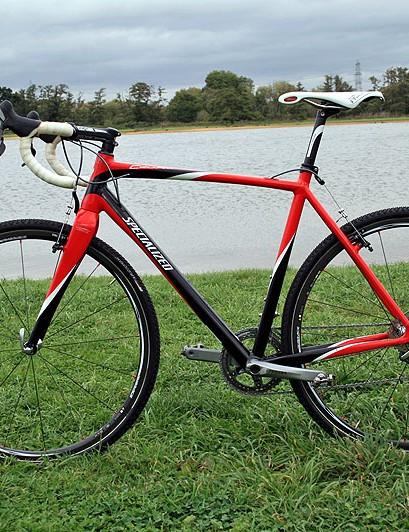 Total bike weight of Ian Field's Specialized CruX Elite is 7.2kg