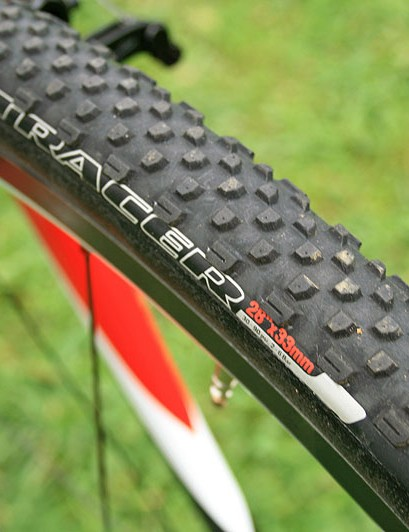 Specialized's tubular Tracer tyre