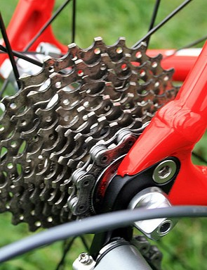 Dura-Ace ten-speed 12-27T cassette on the CruX Elite