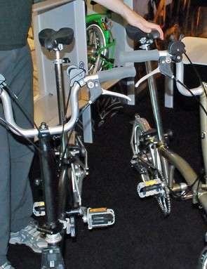 Brompton has new bars for taller riders