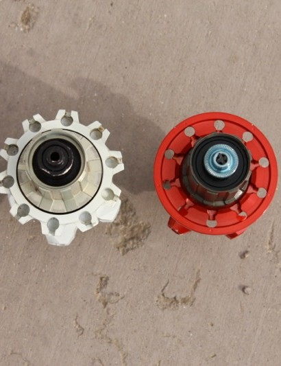 The hub features new flanges in addition to the ITS-4 freehub internals