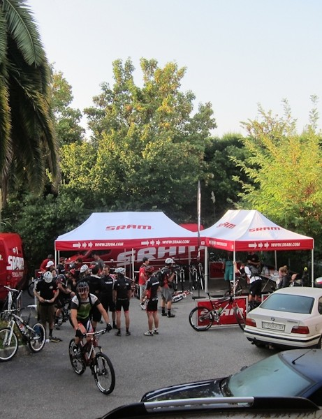 SRAM's support is always impressive at their media camps and the RISE launch was no exception
