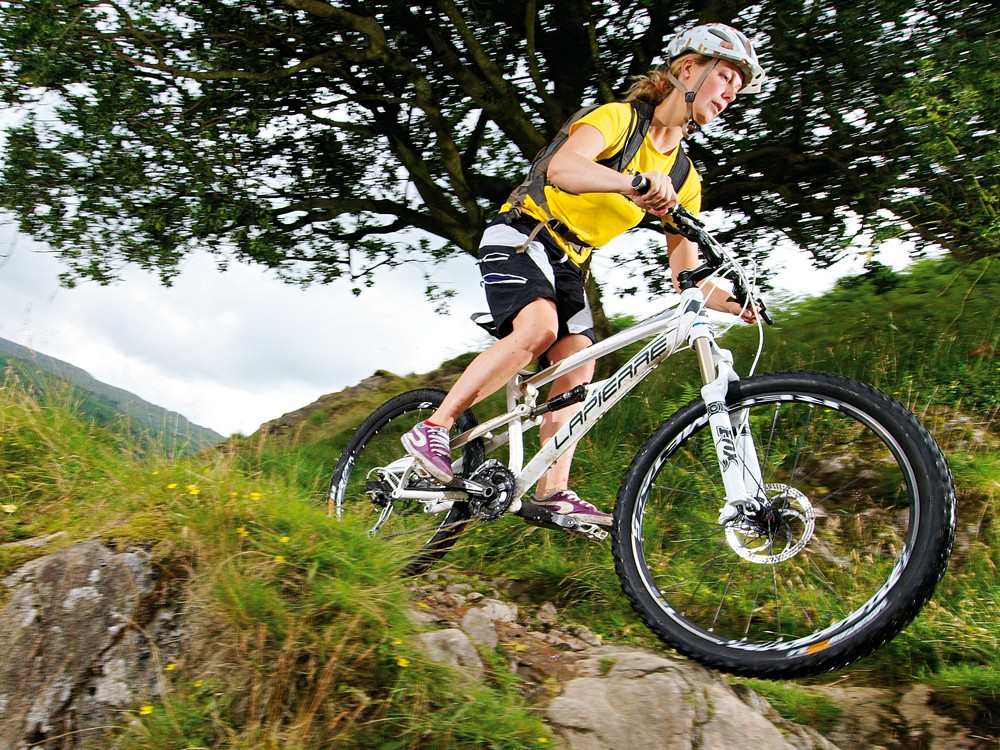 The Zesty impresses with its ability to glide over tougher trails