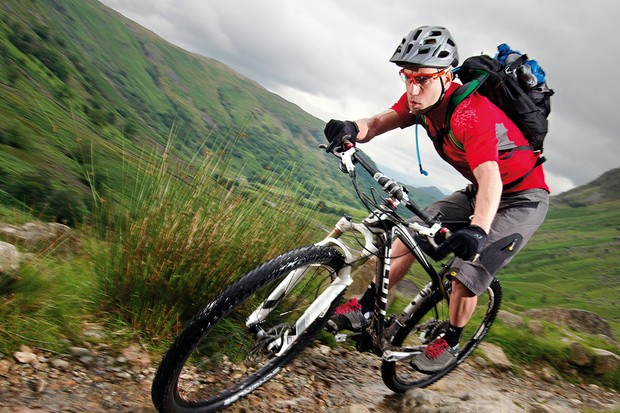Stony trails and rough slab paths proved to be easy obstacles for the Scott to overcome