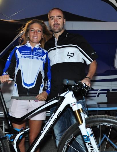World champions Pauline Ferrand-Prevot and Nicolas Vouilloz helped Lapierre introduce the 2012 XR Team 29er