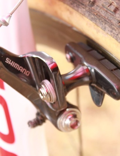 Shimano's new cyclo-cross cantilever brake