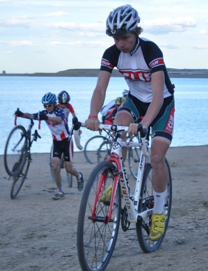 Junior racers practicing what Berden preaches