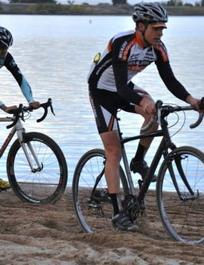 Sand courses are the bane of many domestic cyclo-crossers' seasons
