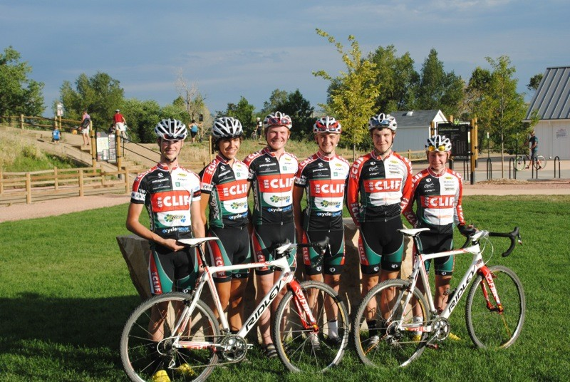 The 2012 Clif Bar developmental cyclo-cross team