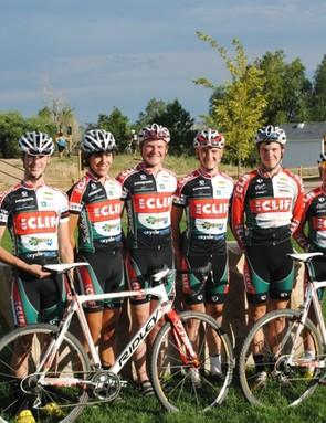 The 2012 Clif Bar developmental cyclo-cross team