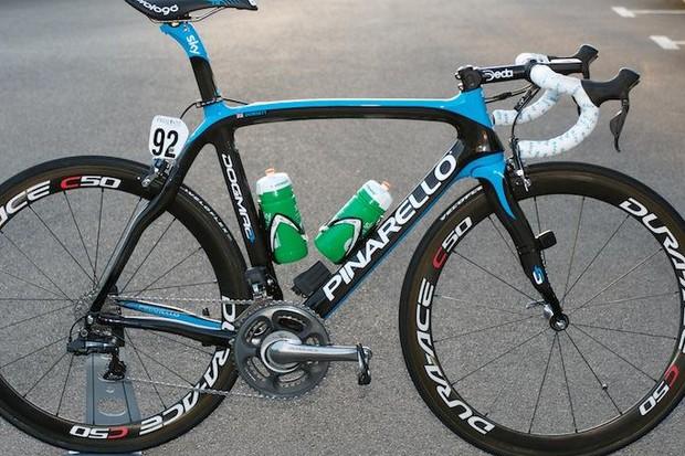 Mark Cavendish will be aboard Pinarello's Dogma 2 in 2012