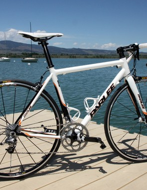 The Parlee Z5 looks somewhat traditional as compared to wilder shapes out there but the ride quality is sublime